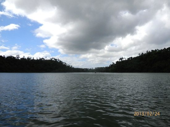 Lake Pandin:                   View from the other end