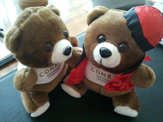 Conrad Centennial Singapore: Conrad Teddies