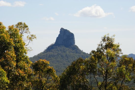 CrookNeck Retreat:                   Mountain from our verandah