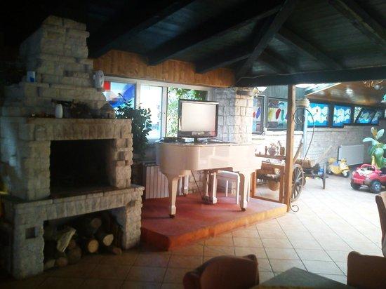 Villa Margerita: Area with fire place