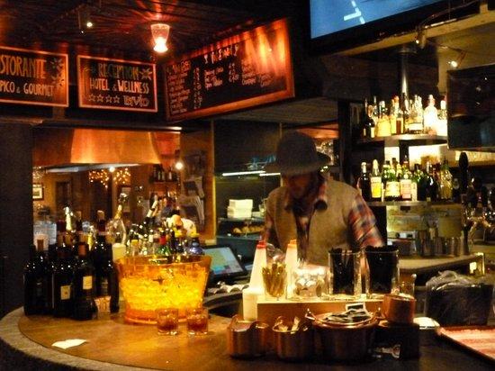 Bivio Hotel:                   die Bar