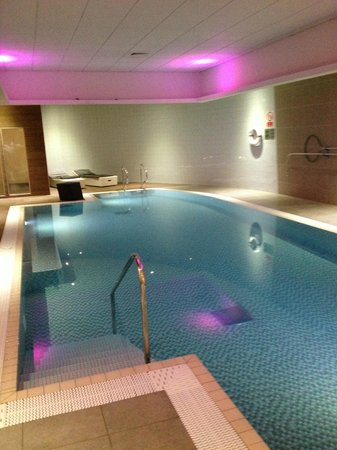Pool picture of novotel liverpool liverpool tripadvisor for Liverpool hotels with swimming pool