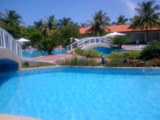 La-Palm Royal Beach Hotel:                   On the pool... Fascinating!