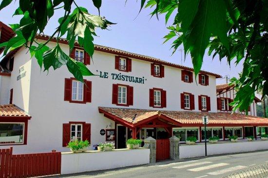 Hotel restaurant txistulari itxassou france voir les for Restaurant itxassou