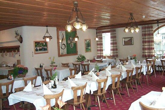Hotel Acla-Filli: Speisesaal für 80 Personen