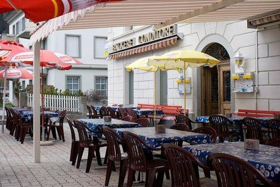 Hotel Acla-Filli: Schöne Gartenterasse