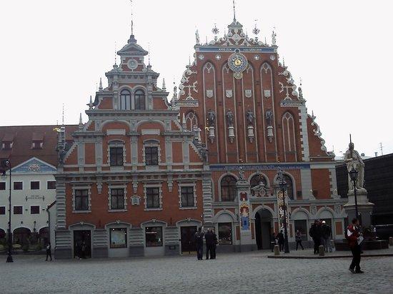Grand Palace Hotel: Riga...palazzi