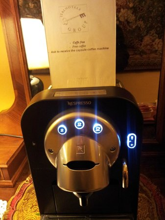 Hotel Ginori al Duomo - Italhotels Group: Macchina del facce FREE