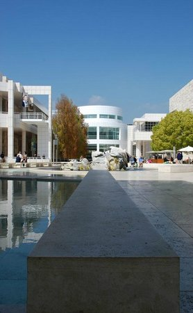 The Getty Center:                   Getty Center - Amazing architecture