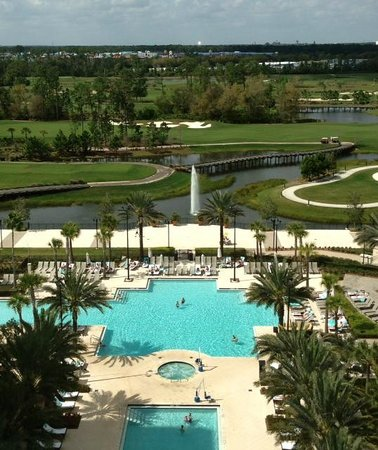 View from my Waldorf Astoria Orlando Guest Room