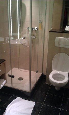 Atrium Hotel Mainz:                   single room bathroom