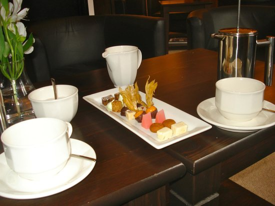 1861 Restaurant:                   the lounge with our coffee.