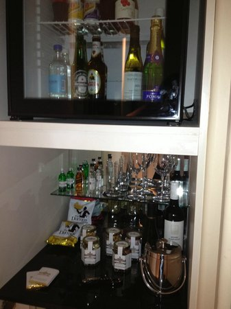 Stoke Park Country Club, Spa and Hotel:                                     Very pricey minibar!