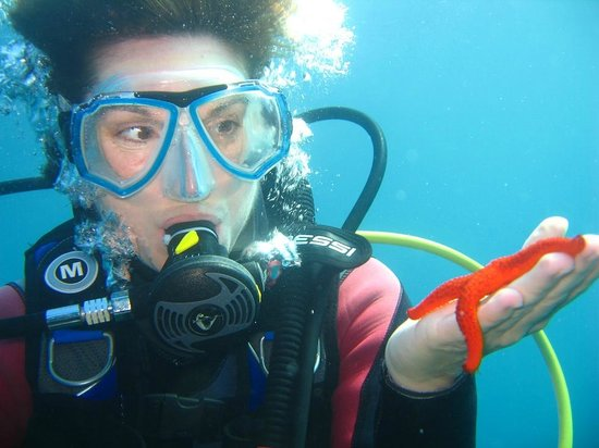 Cote Plongee: Discover Scuba Diving, cap d'Antibes, Diving School