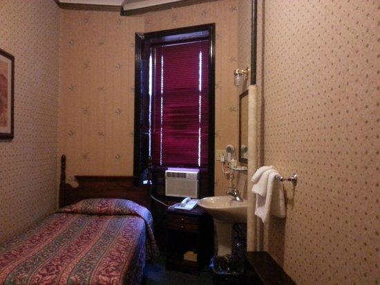 Hotel 17:                   inside