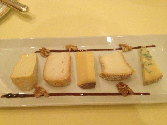 Bruneau: Assortment of Cheese
