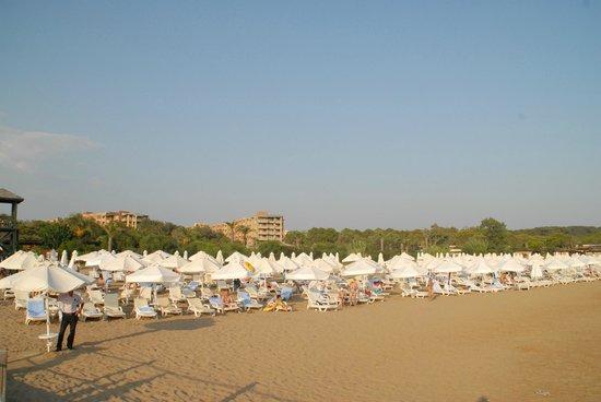 Sueno Hotels Beach Side: plage