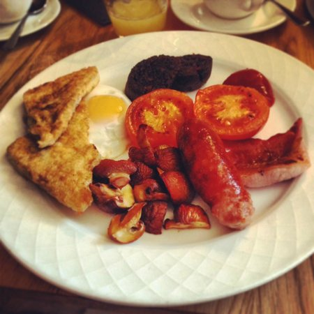The Drawing Room:                                     Breakfast