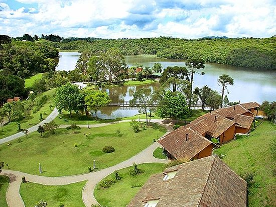 Tijucas do Sul, PR: Hotel La Dolce Vita - Vista do Alto