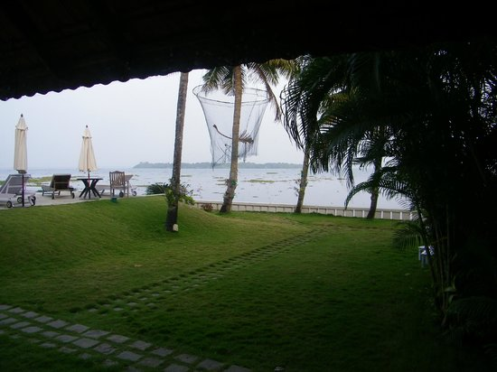 ‪‪Lemon Tree Vembanad Lake Resort‬:                                     View from Room