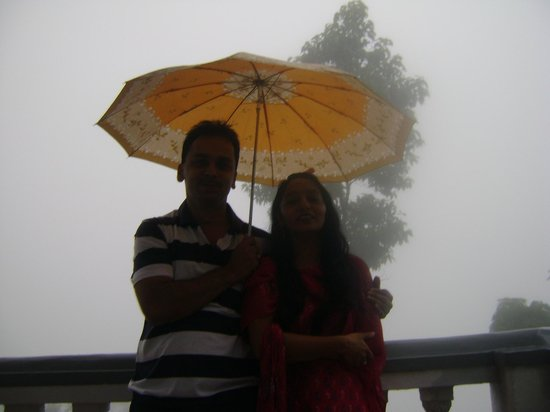 High View Resort :                                     The mistfull morning