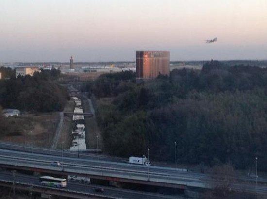 ANA Crowne Plaza Hotel Narita:                                     View of Narita from window