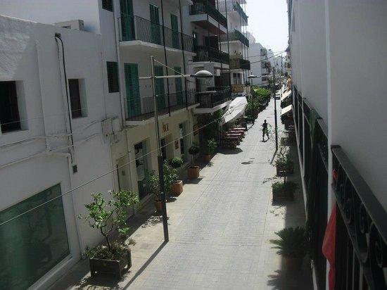 Hostal Sa Rota:                                     View from room