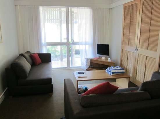 Novotel Twin Waters Resort:                                     Lounge area