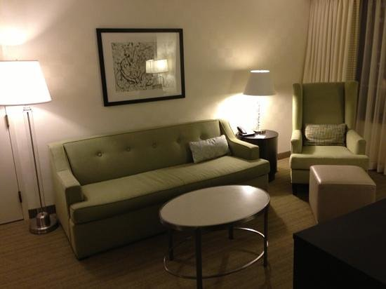Hampton Inn & Suites Chicago - Downtown:                   living2