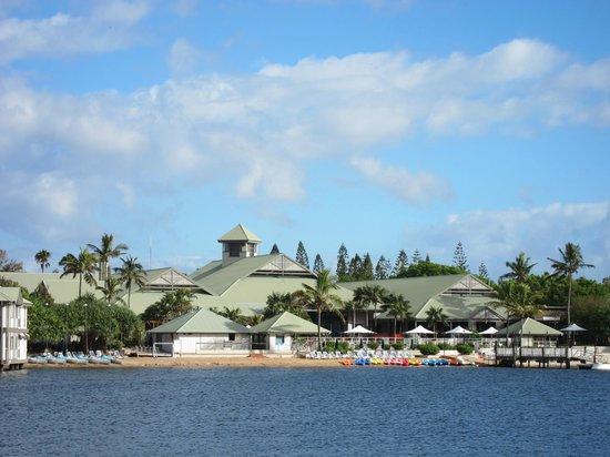 Novotel Twin Waters Resort:                                     View across lake
