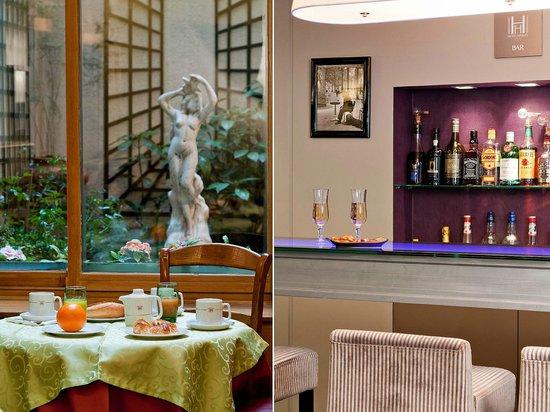 Hotel Harvey: Salle à manger et bar  de l'hotel