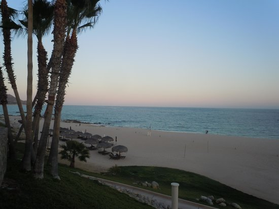 Hilton Los Cabos Beach & Golf Resort:                                     The beach