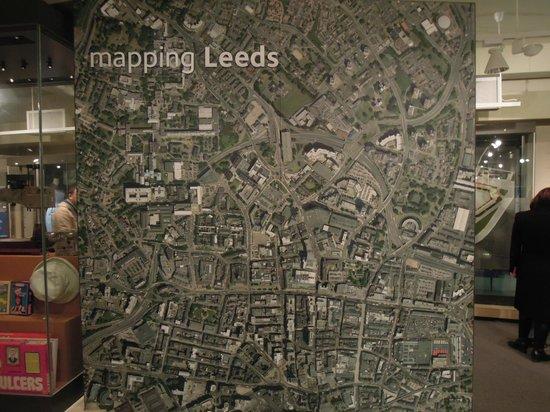 Leeds City Museum:                                     Mapping Leeds