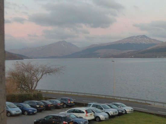 Loch Fyne Hotel & Spa:                                     View from room
