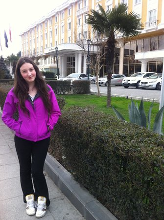 Eresin Topkapi Hotel:                   Outside the hotel