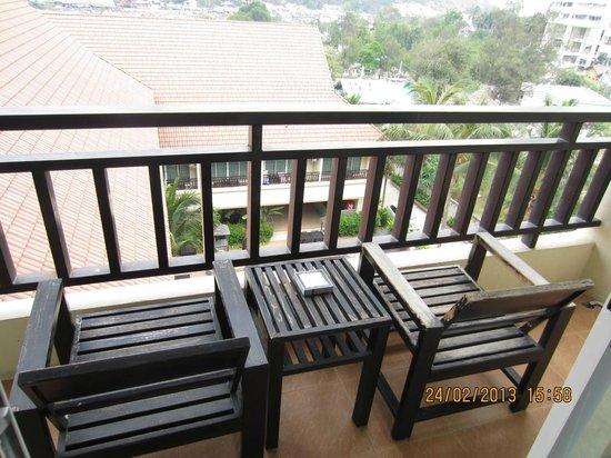 Napalai Resort & Spa:                                     view from the balcony