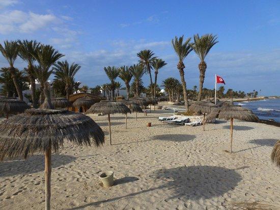 El Mouradi Djerba Menzel: Vue dans le menzel près de la plage