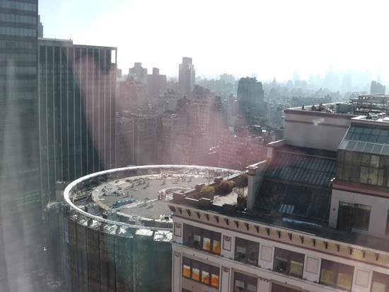 The New Yorker A Wyndham Hotel:                   view of maddison sq garden