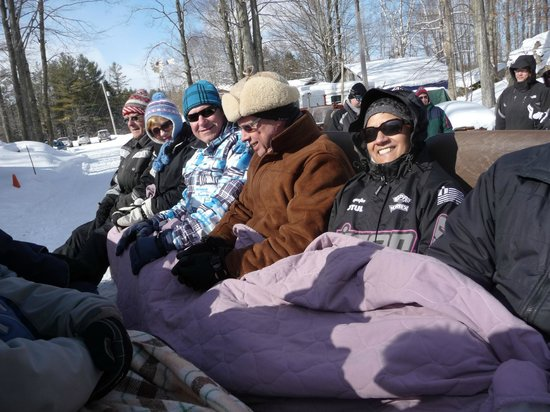 Sauble Falls Bed & Breakfast:                   Everyone is having a great time