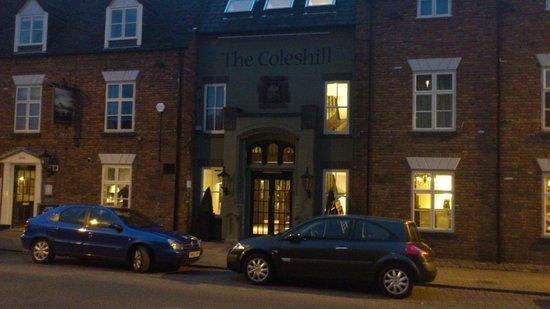 Coleshill Hotel:                   outside