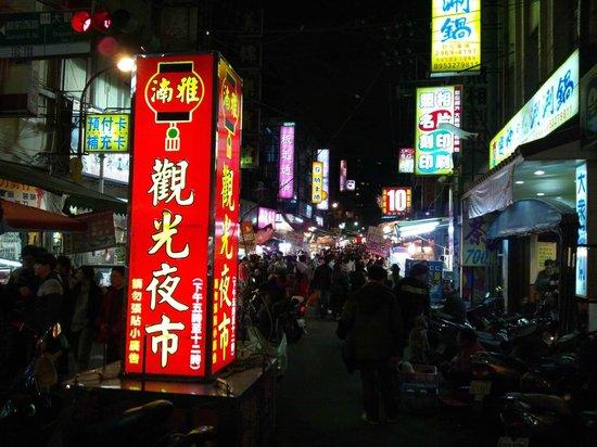 Grand Forward Hotel:                   nearest nightmarket