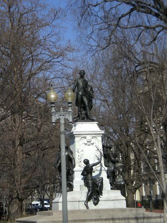 Another Statue at the Lafayette Square