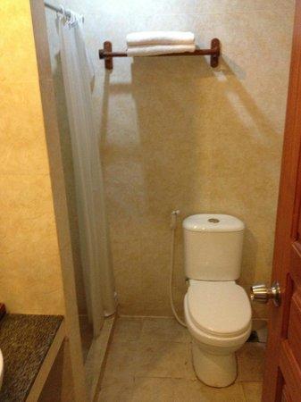 Malika d'Angkor Boutique Hotel: Bathroom in twin room