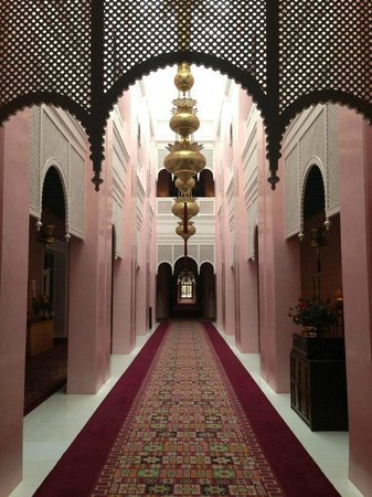 Sahara Palace Marrakech :                                     Walkway to our room