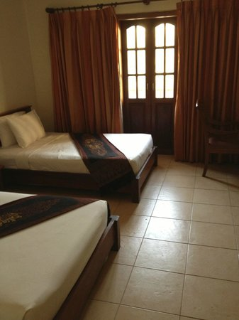 Malika d'Angkor Boutique Hotel : Twin room