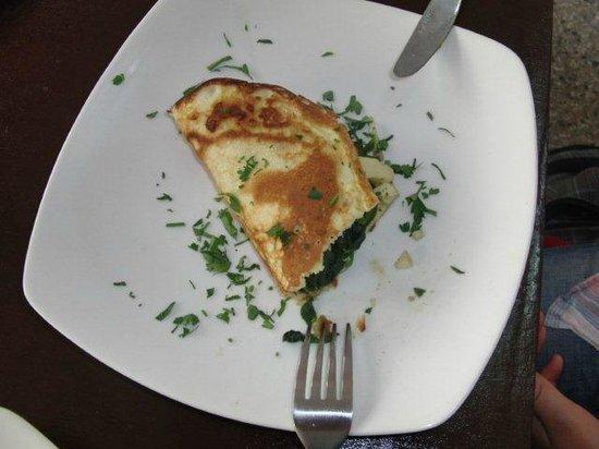 Comer con Corazon: We serve vegetarian meals, too.