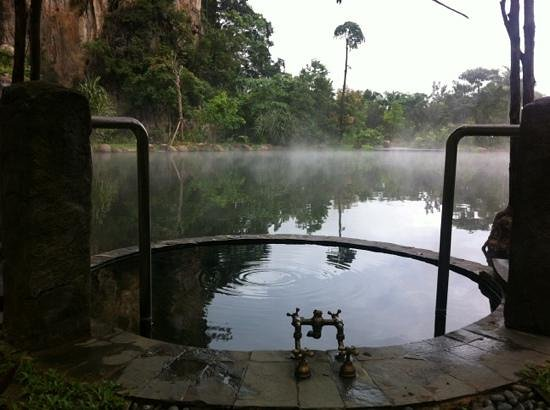 The Banjaran Hotsprings Retreat:                   the lake