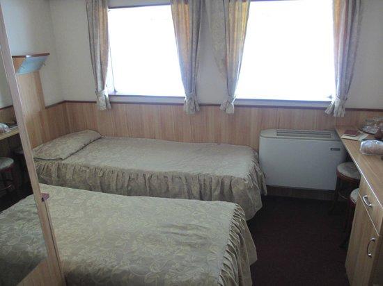 Fortuna Boat Hotel & Restaurant:                   少し高めの部屋(こちらを強くお勧めします!)