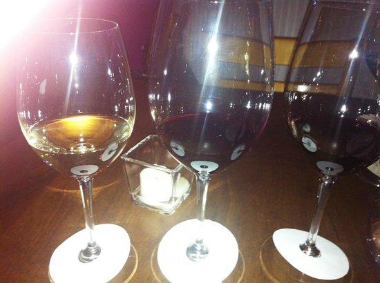 Volta Mediterranean Restaurant: wine flight