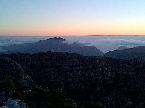 Table Mountain Aerial Cableway:                   Table Mountain View